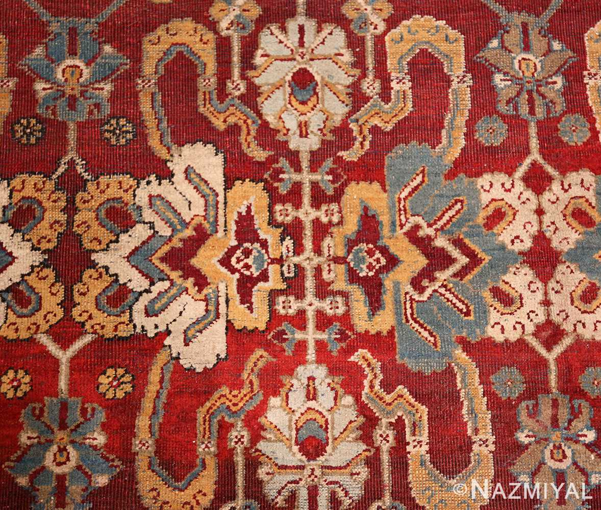 antique indian amritsar rug 2670 design Nazmiyal