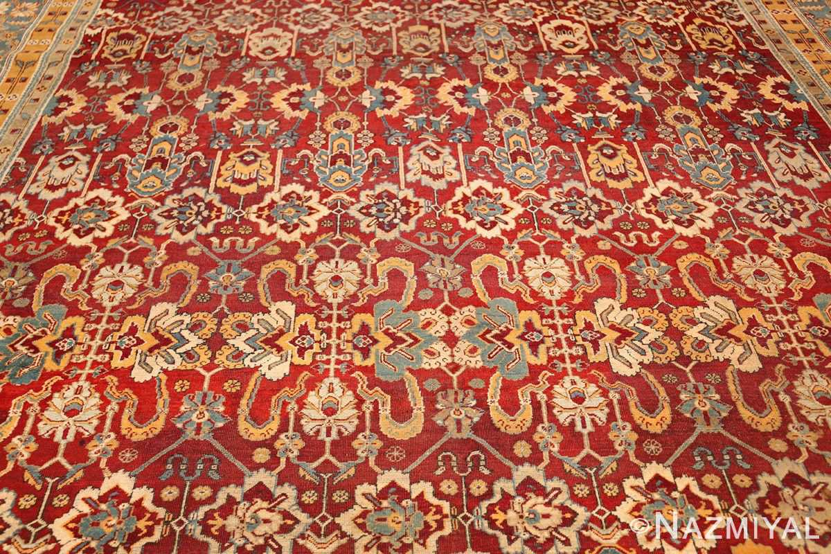 antique indian amritsar rug 2670 field Nazmiyal