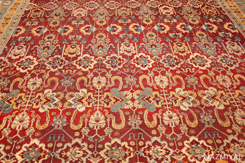 antique indian amritsar rug 2670 field Nazmiyal