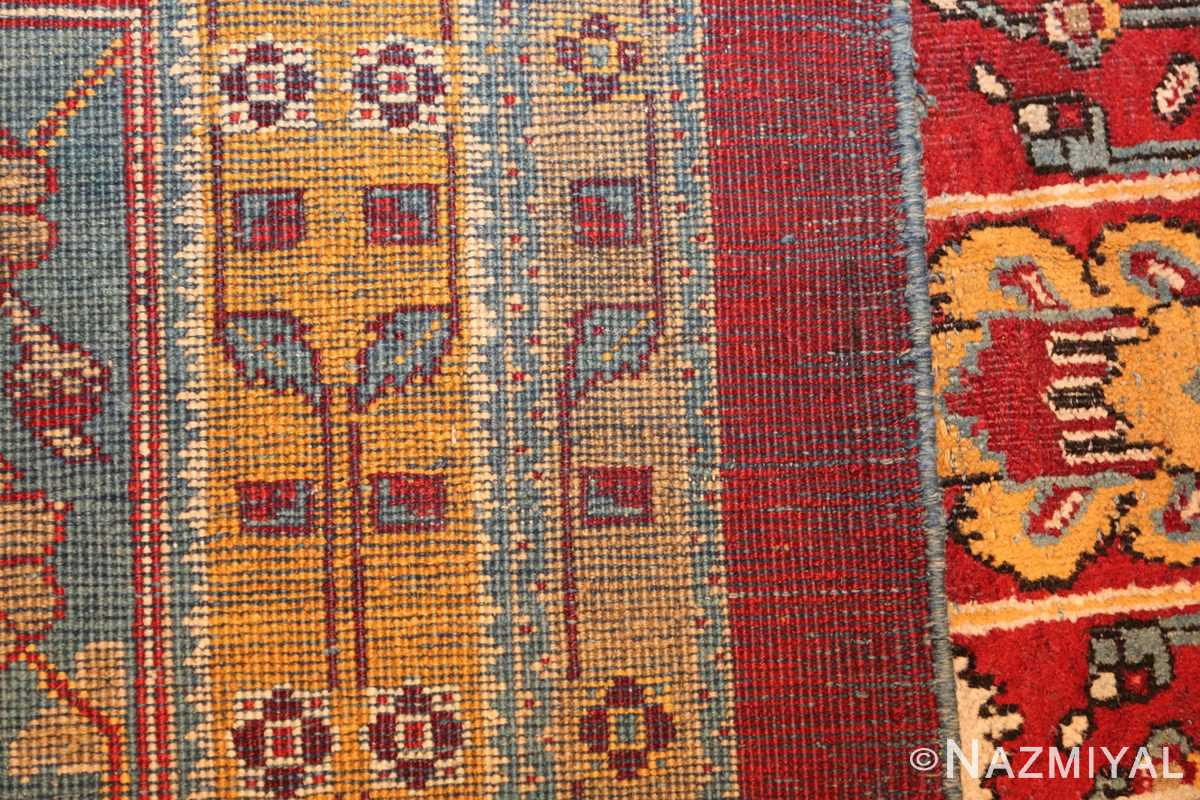 antique indian amritsar rug 2670 weave Nazmiyal