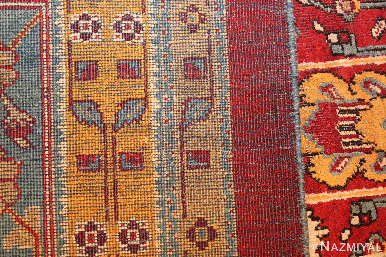 antique indian amritsar rug 2670 weave Nazmiyal