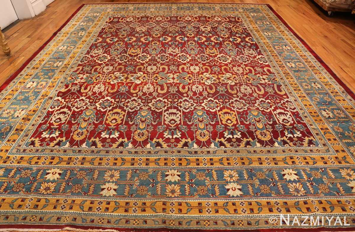 antique indian amritsar rug 2670 whole Nazmiyal