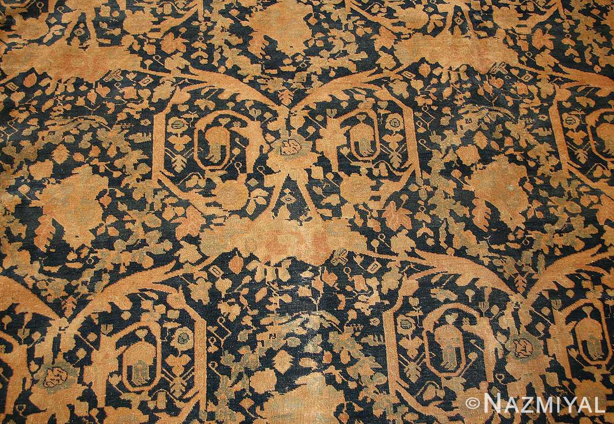 antique tabriz persian rug 40093 field Nazmiyal