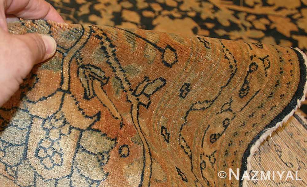 antique tabriz persian rug 40093 pile Nazmiyal