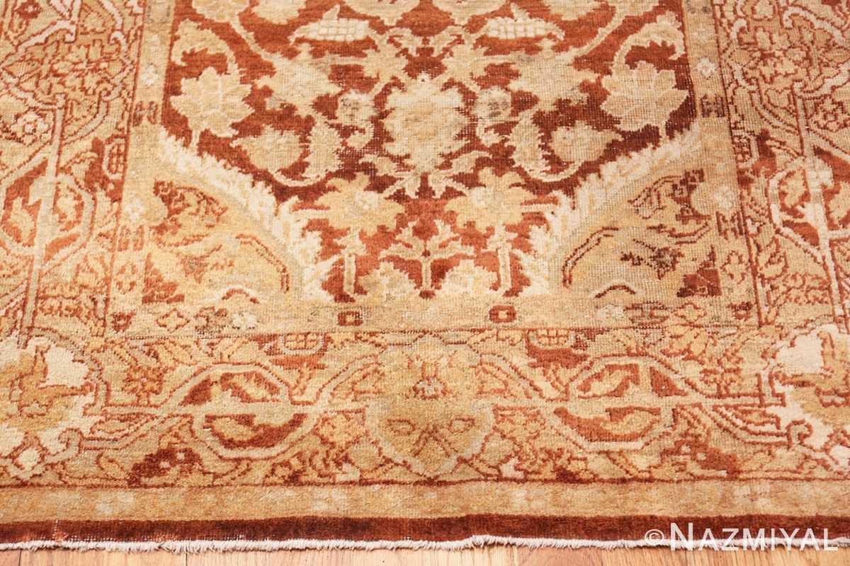 Border Small decorative Antique Indian Amritsar rug 40707 by Nazmiyal