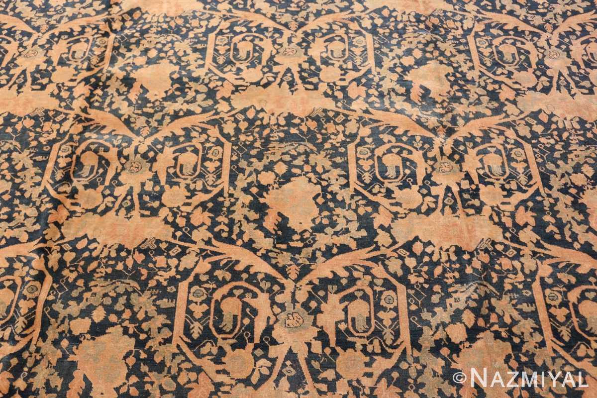 Field Antique Tabriz Persian rug 40093 by Nazmiyal
