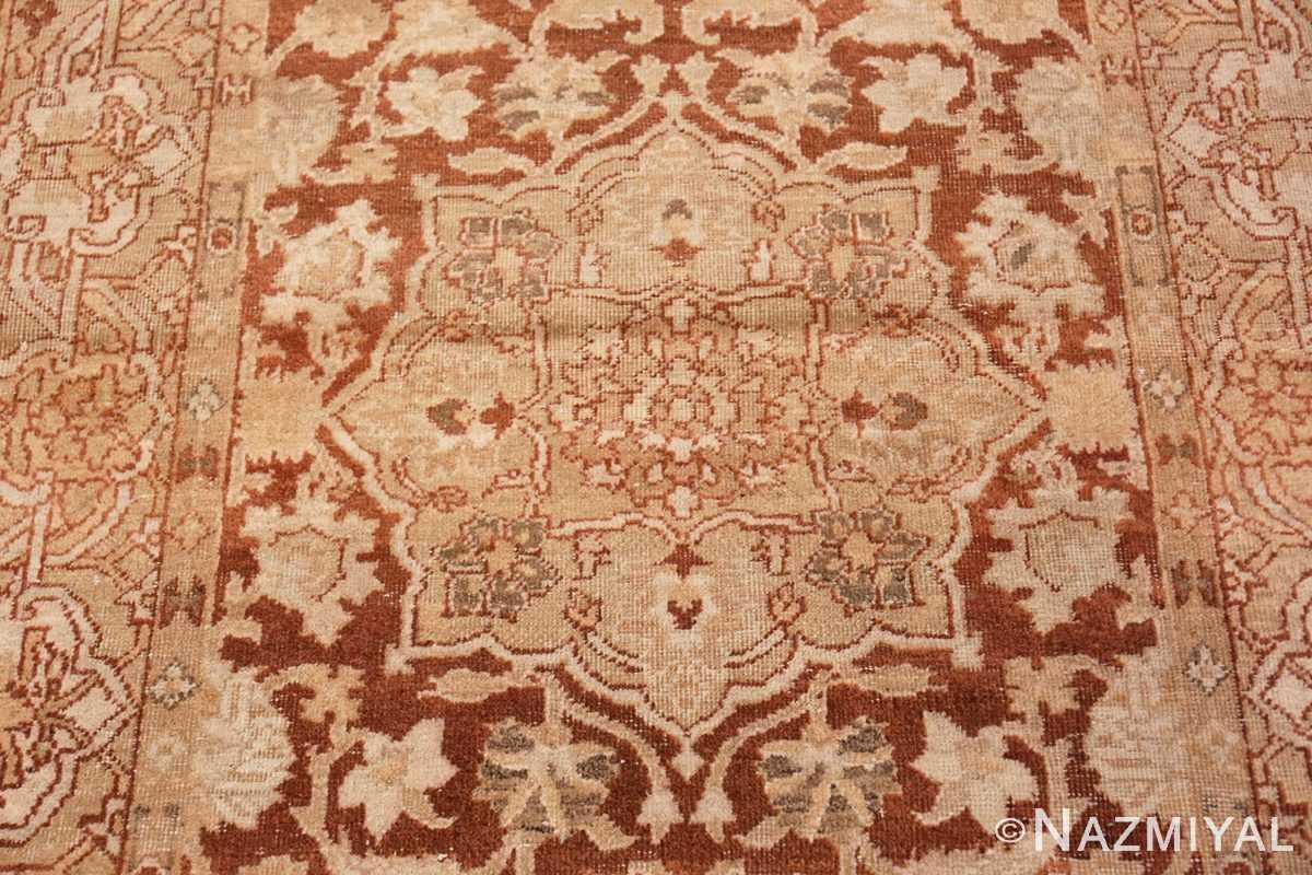 Field Small decorative Antique Indian Amritsar rug 40707 by Nazmiyal