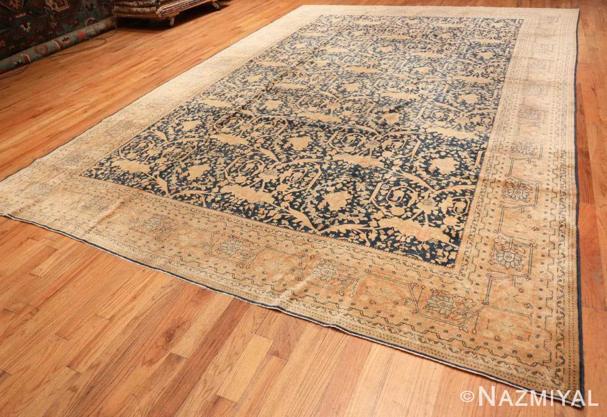 Full Antique Tabriz Persian rug 40093 by Nazmiyal