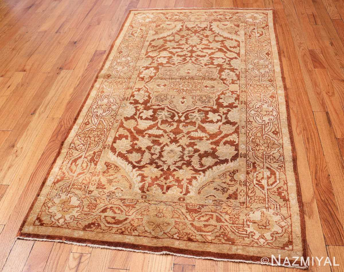 Full Small decorative Antique Indian Amritsar rug 40707 by Nazmiyal