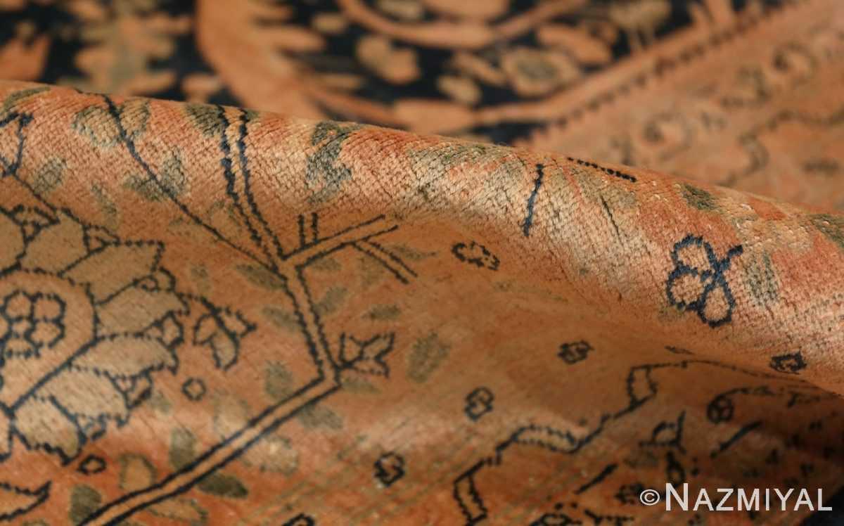 Pile Antique Tabriz Persian rug 40093 by Nazmiyal