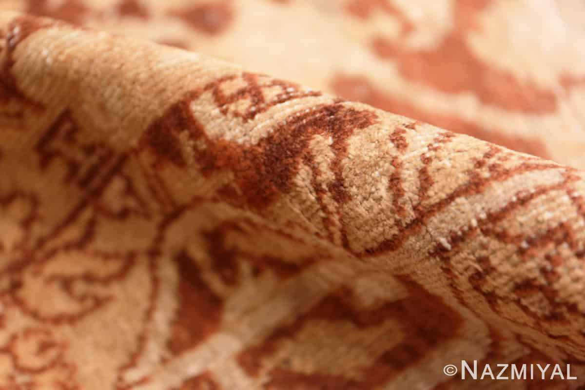 Pile Small decorative Antique Indian Amritsar rug 40707 by Nazmiyal