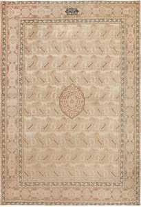 antique tabriz persian rug 42333 Nazmiyal