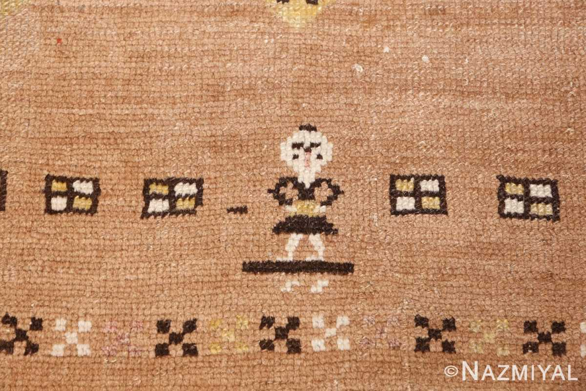antique persian bakshaish rug 44150 boy Nazmiyal