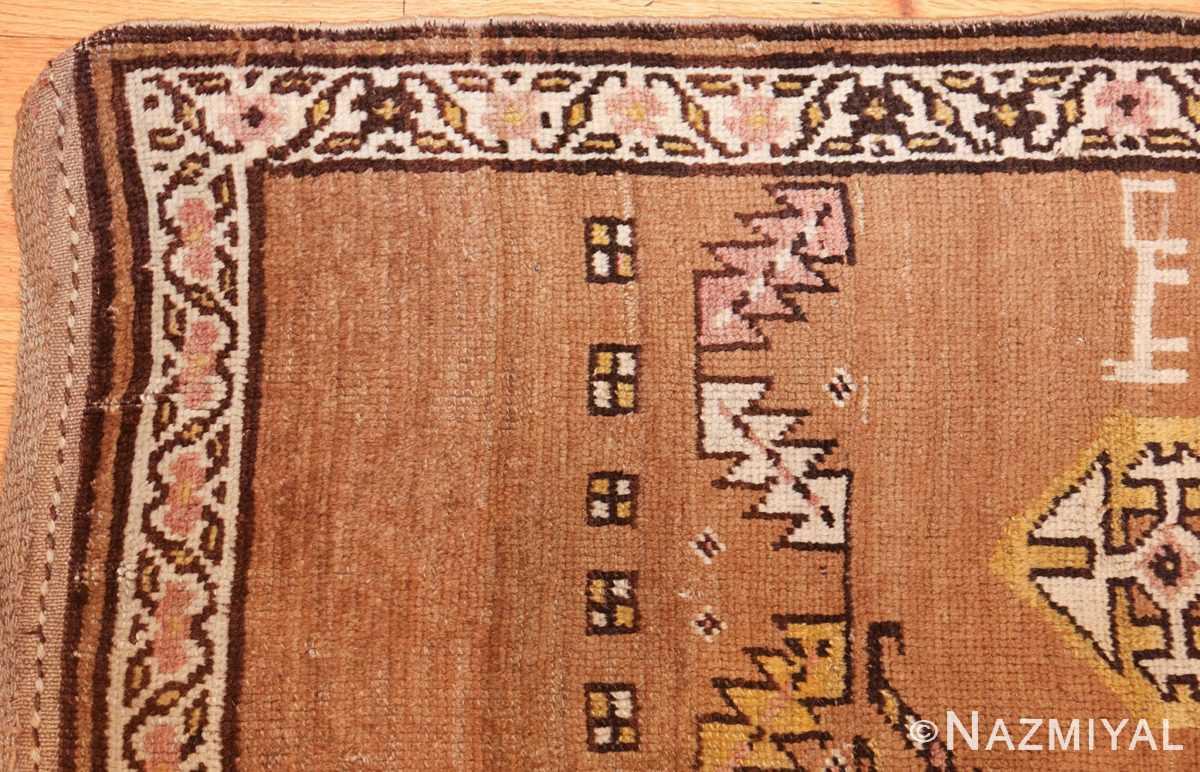 antique persian bakshaish rug 44150 corner Nazmiyal