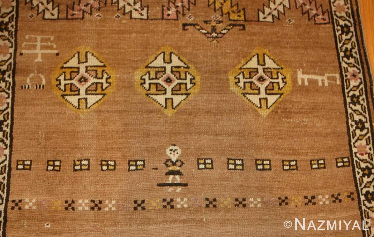 antique persian bakshaish rug 44150 design Nazmiyal