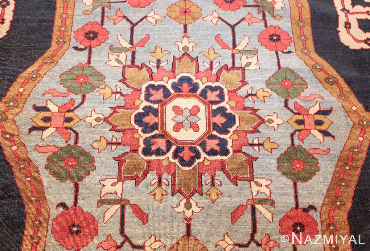 antique persian heriz serapi rug 44177 center edited Nazmiyal