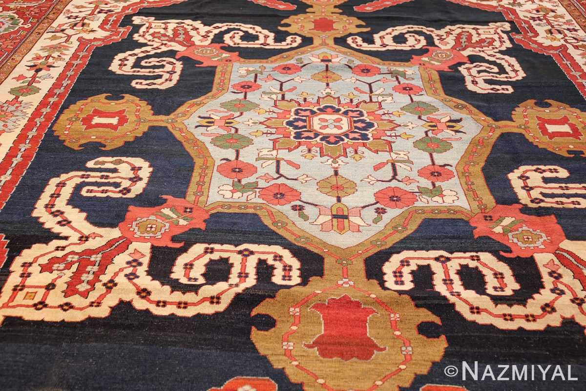 antique persian heriz serapi rug 44177 field edited Nazmiyal