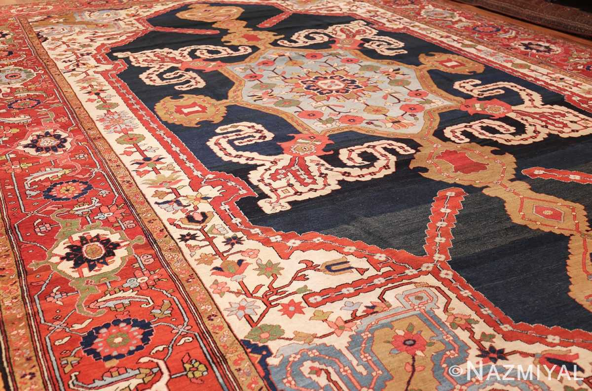 antique persian heriz serapi rug 44177 whole edited Nazmiyal