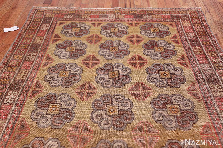 Beautiful Light Green Antique Khotan Rug 42439 Top Patterns Nazmiyal