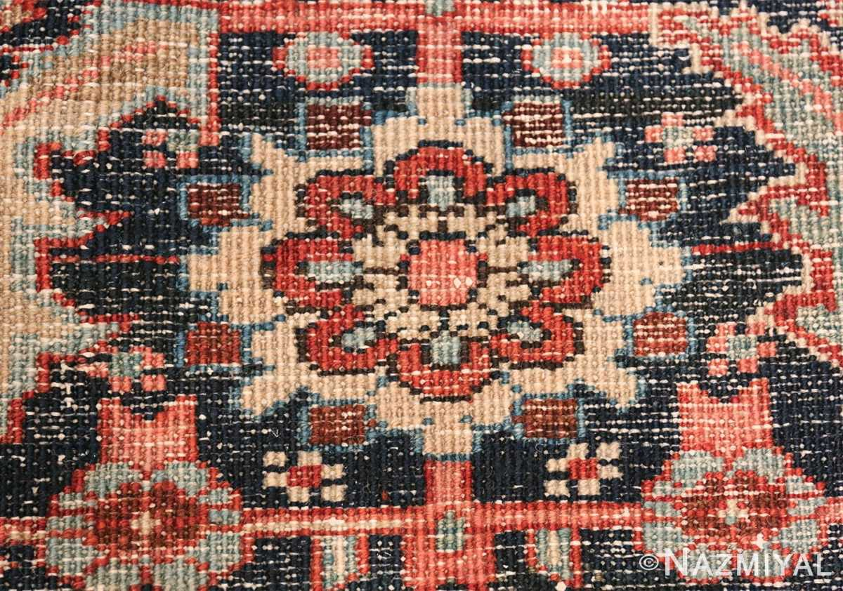 Oversize Antique Persian Heriz Serapi Persian Rug 44085 Knots Woven Nazmiyal