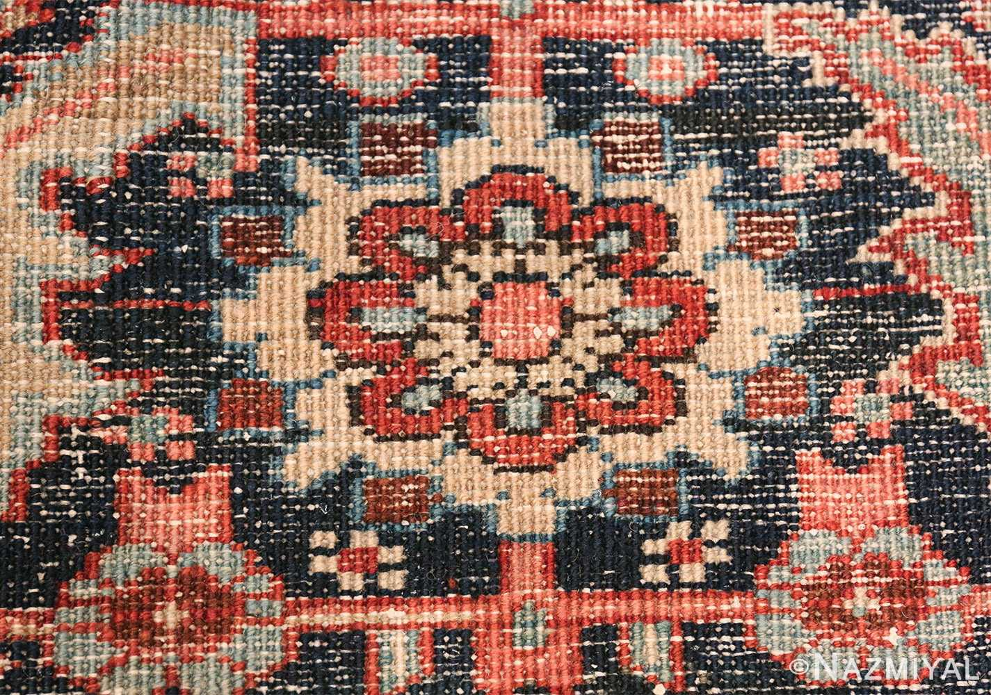 Oversize Antique Persian Heriz Serapi Persian Rug 44085 Knots Woven Nazmiyal