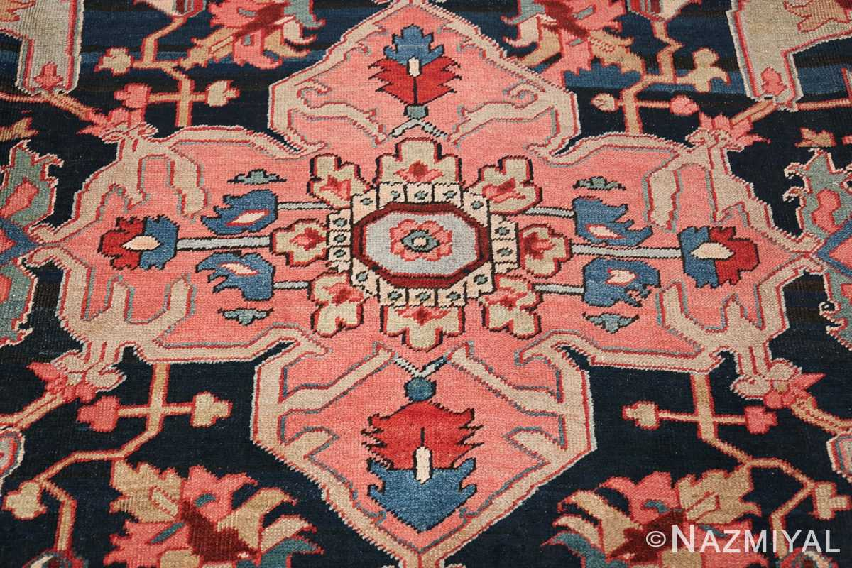 Oversize Antique Persian Heriz Serapi Persian Rug 44085 Middle Nazmiyal