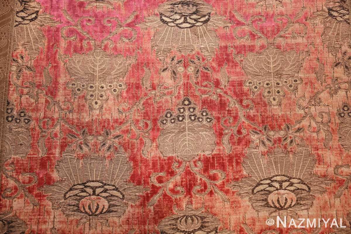 antique velvet italian textile 41961 field Nazmiyal