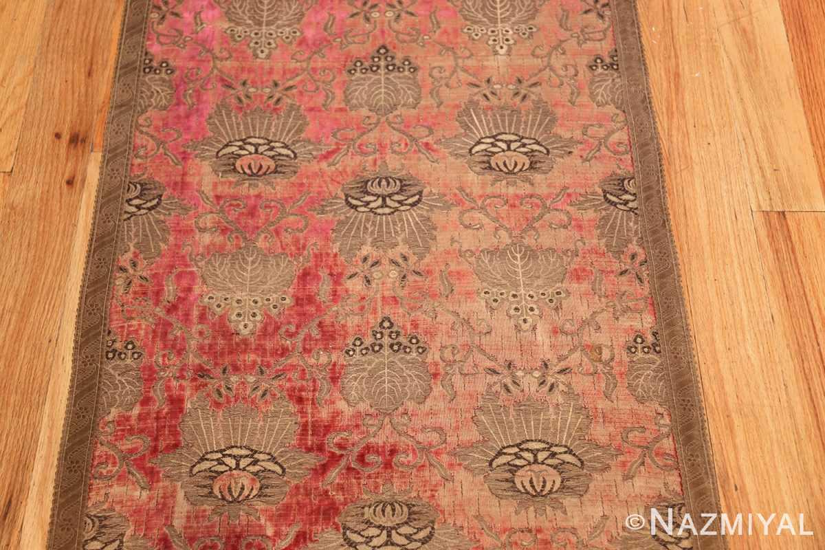 antique velvet italian textile 41961 middle Nazmiyal