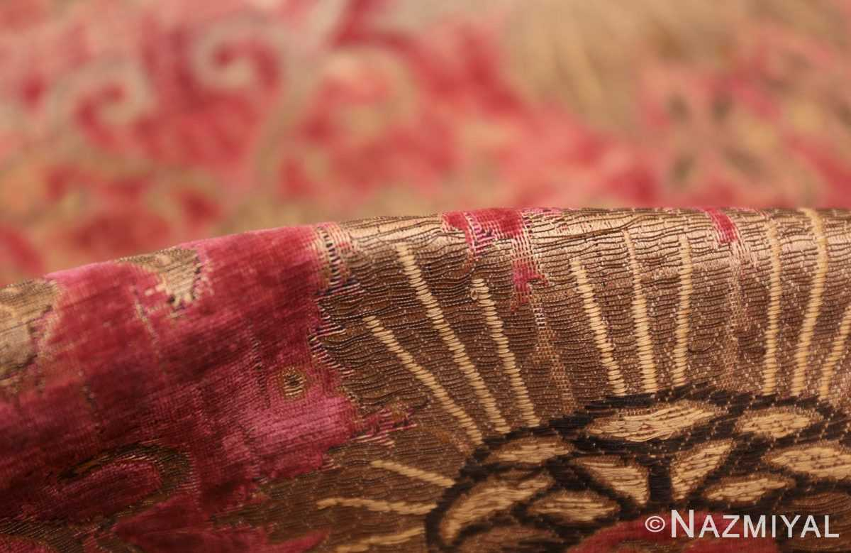 antique velvet italian textile 41961 pile Nazmiyal