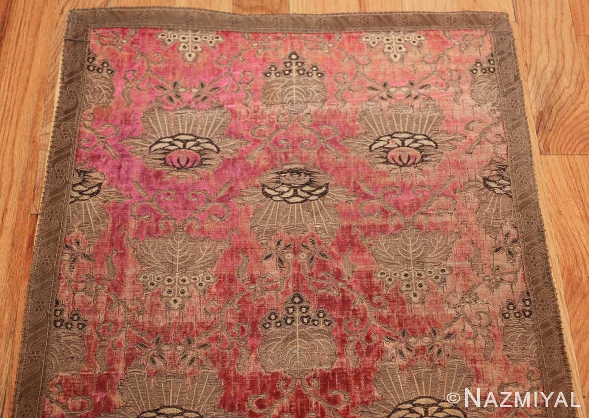 antique velvet italian textile 41961 top Nazmiyal
