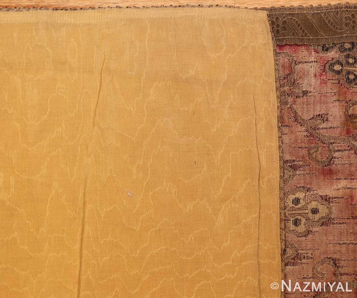 antique velvet italian textile 41961 weave Nazmiyal