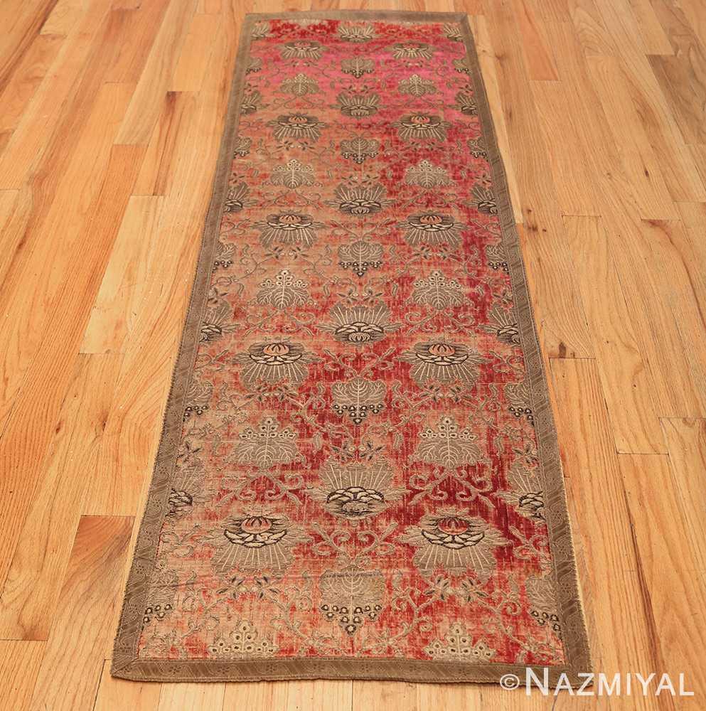 antique velvet italian textile 41961 whole Nazmiyal