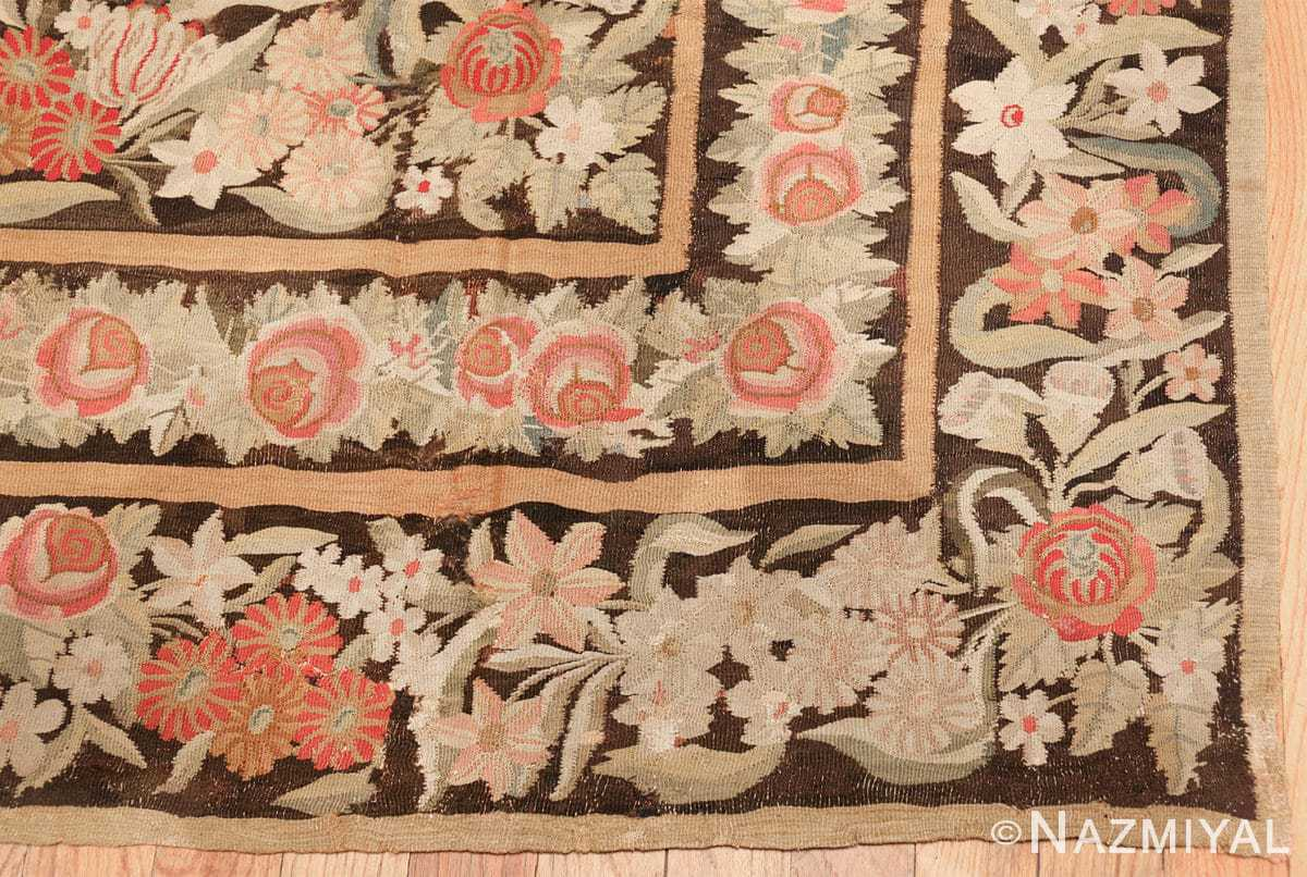 early 19th century antique bessarabian rug 44219 corner Nazmiyal