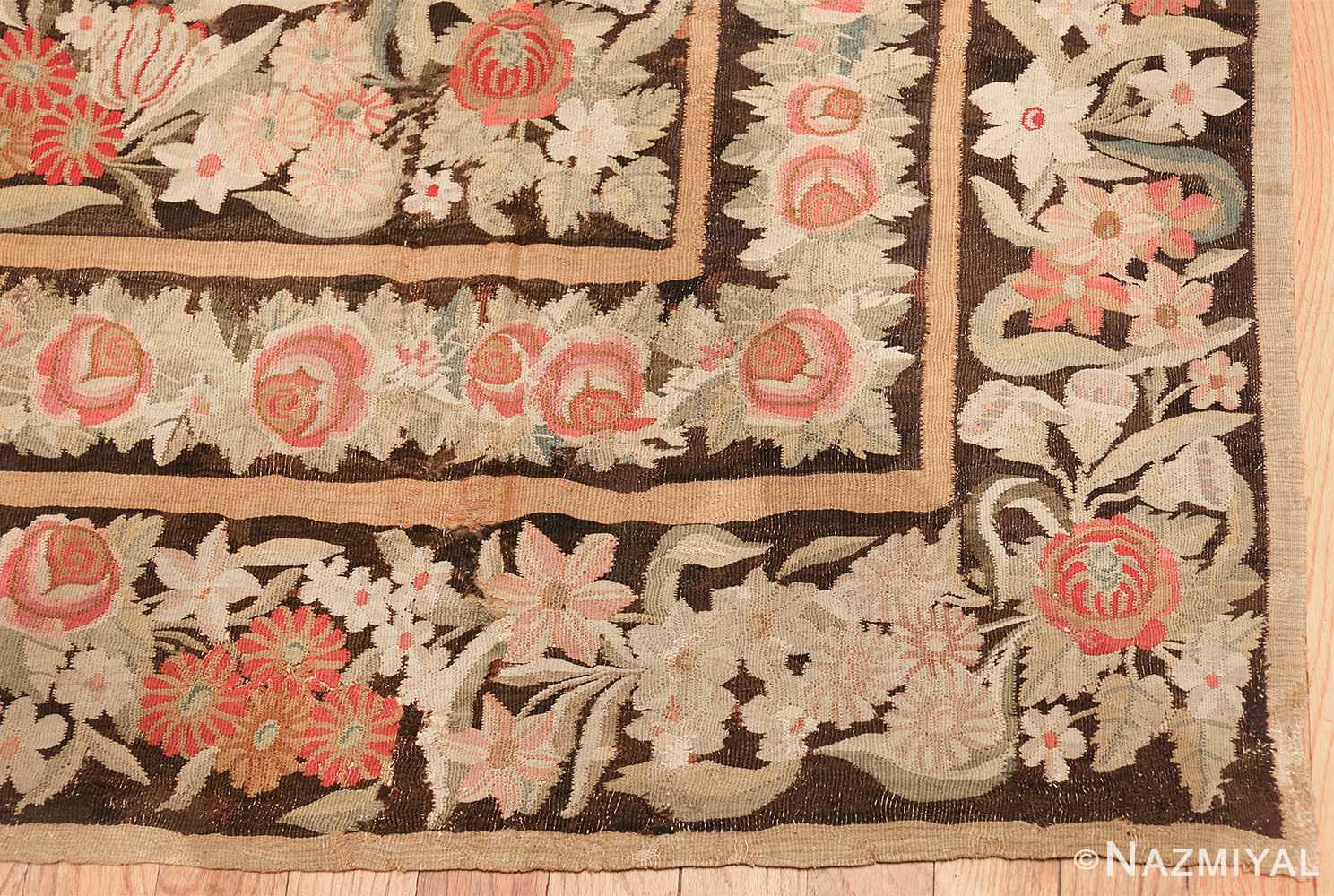 early 19th century antique bessarabian rug 44219 corner Nazmiyal