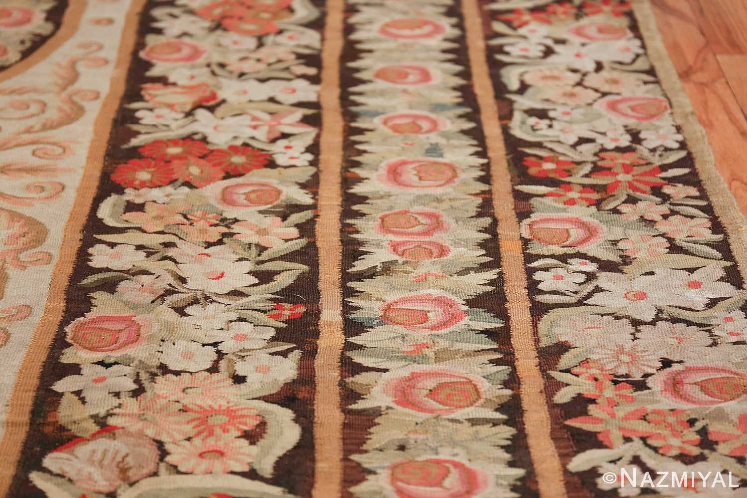 early 19th century antique bessarabian rug 44219 perspective Nazmiyal