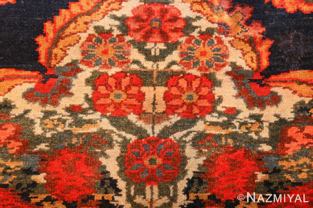 antique kurdish bidjar persian rug 44412 flowers Nazmiyal