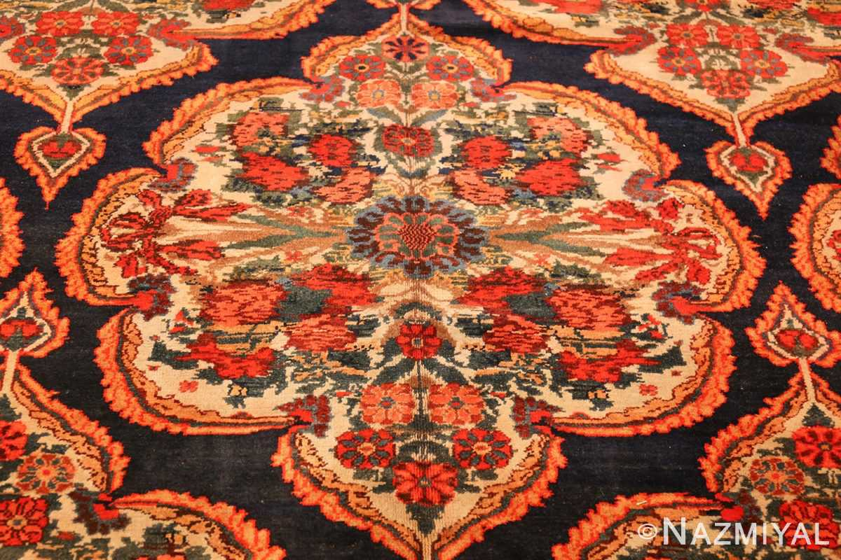 antique kurdish bidjar persian rug 44412 middle Nazmiyal