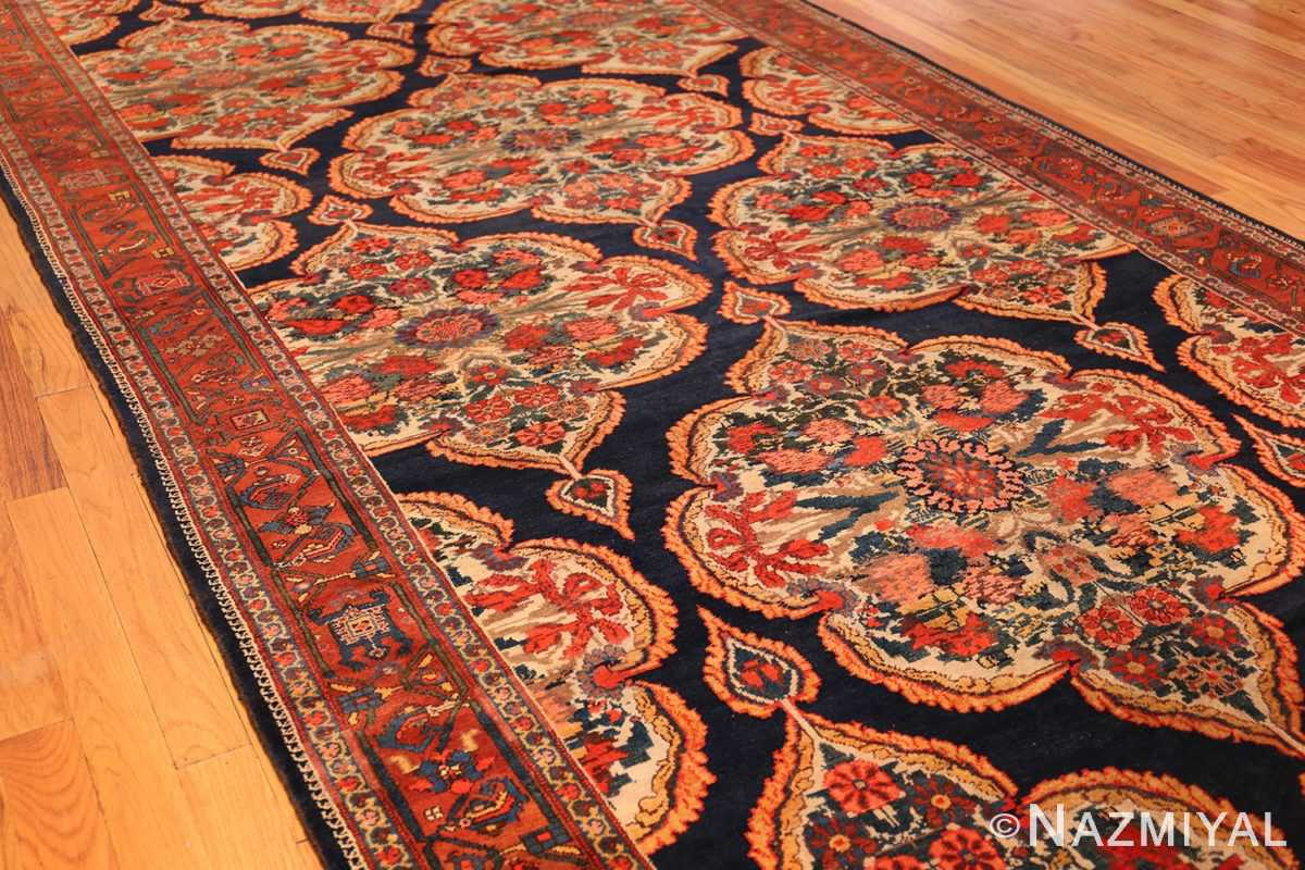 antique kurdish bidjar persian rug 44412 side Nazmiyal