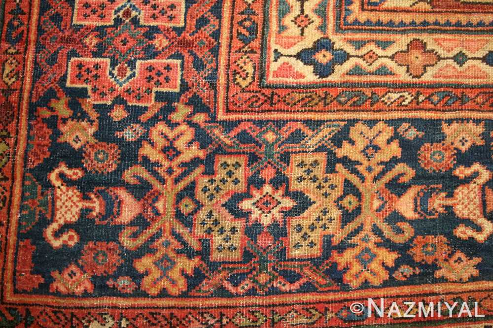 antique persian sultanabad rug 44175 border Nazmiyal