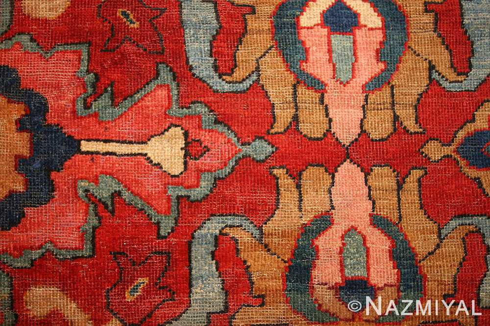 antique persian sultanabad rug 44175 field Nazmiyal