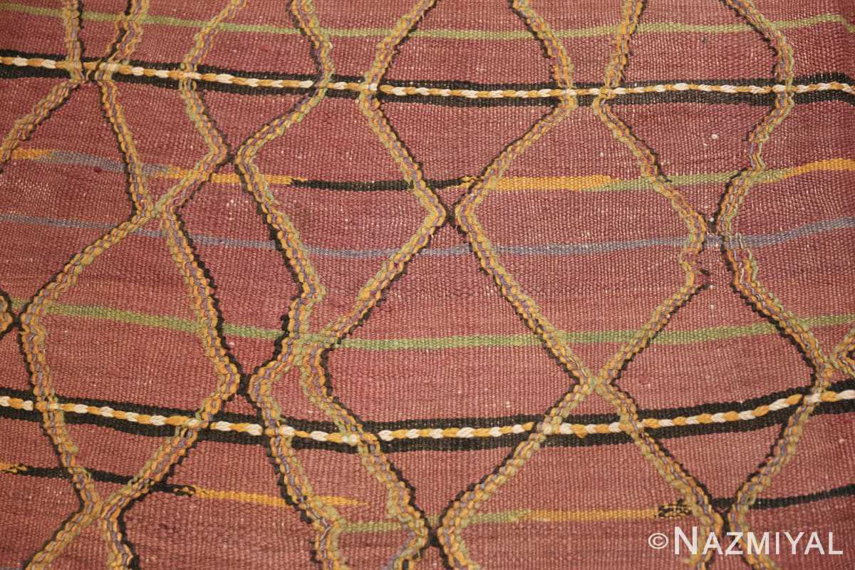 Background Vintage Kilim Moroccan rug 44467 by Nazmiyal