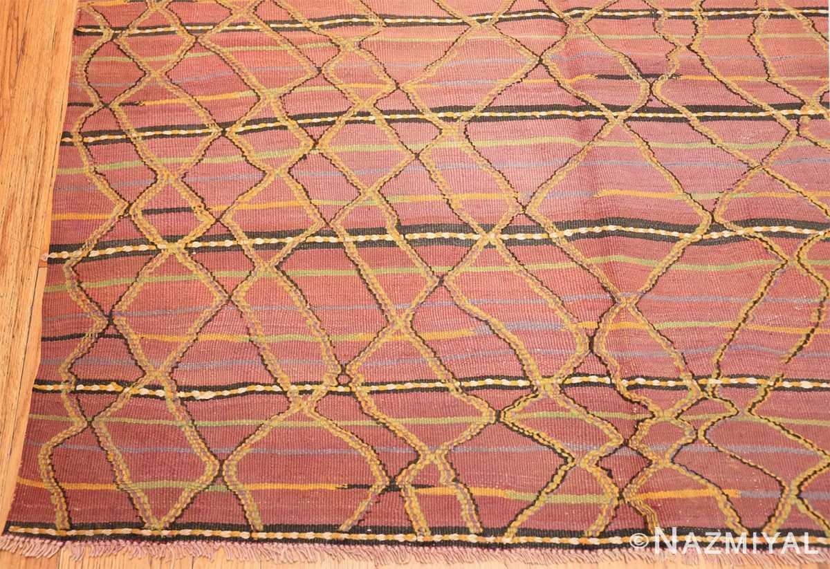 Corner Vintage Kilim Moroccan rug 44467 by Nazmiyal