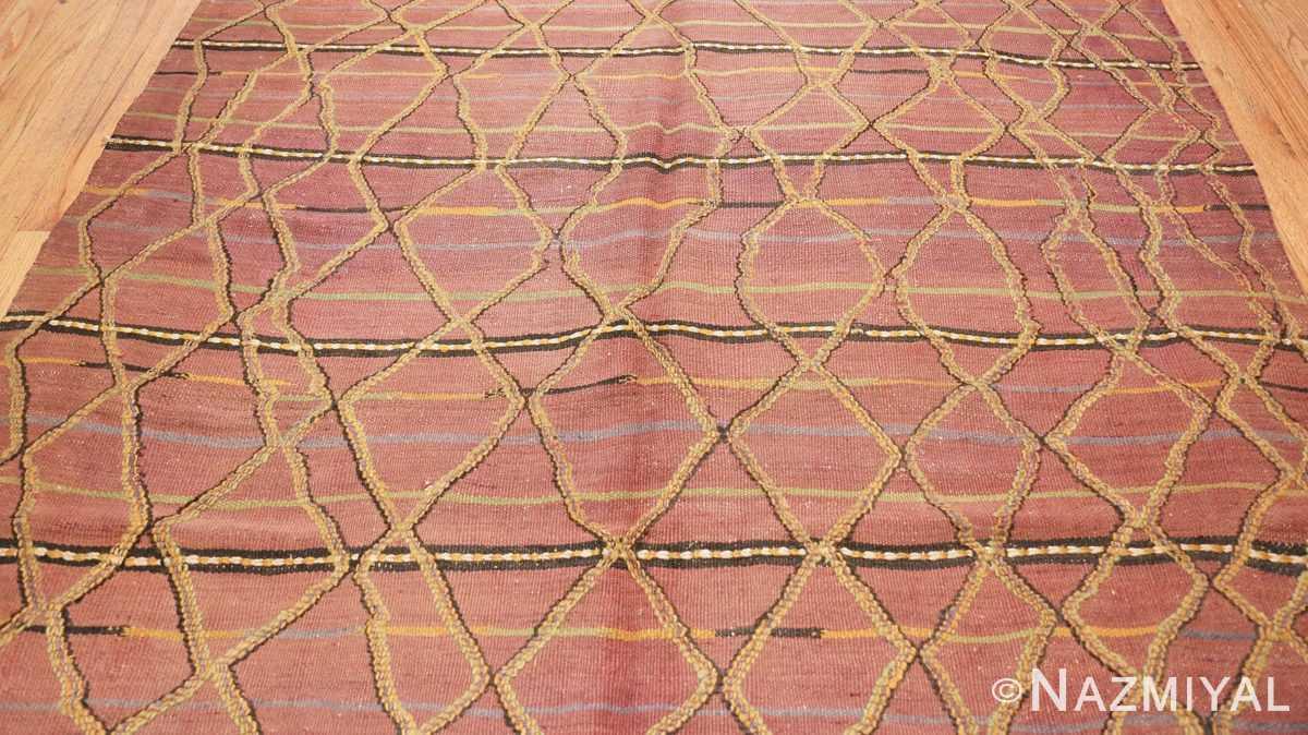 Field Vintage Kilim Moroccan rug 44467 by Nazmiyal