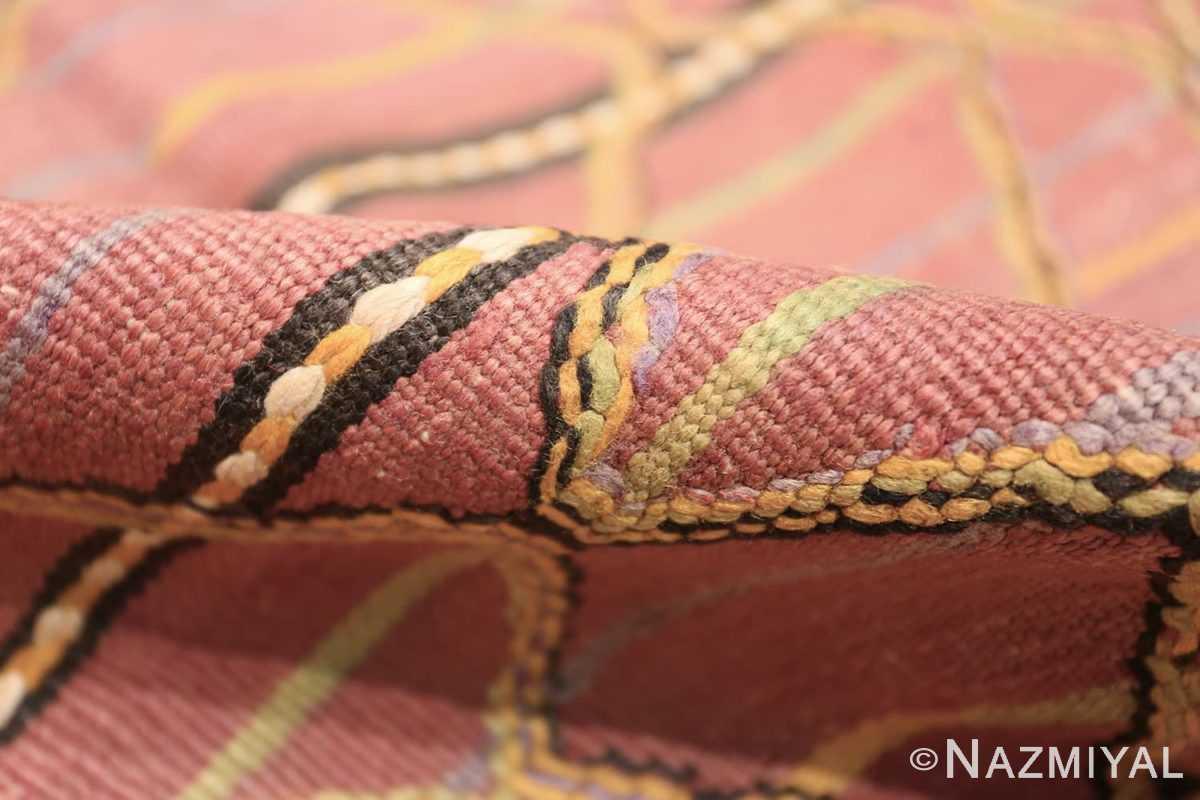 Pile Vintage Kilim Moroccan rug 44467 by Nazmiyal