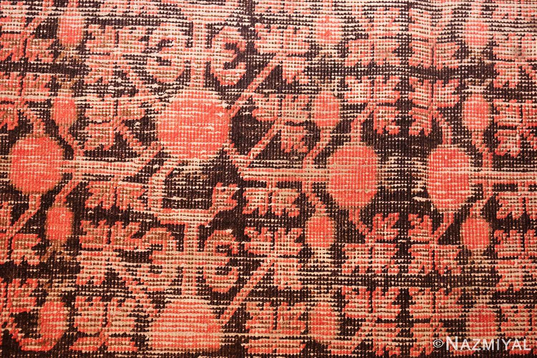 antique khotan rug 44544 closeup Nazmiyal