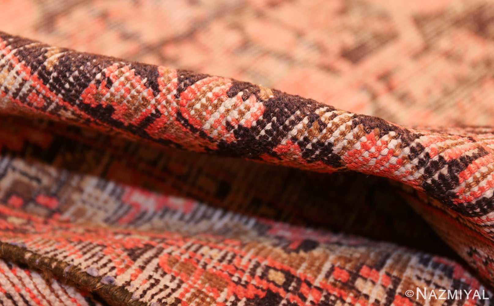 antique khotan rug 44544 pile Nazmiyal