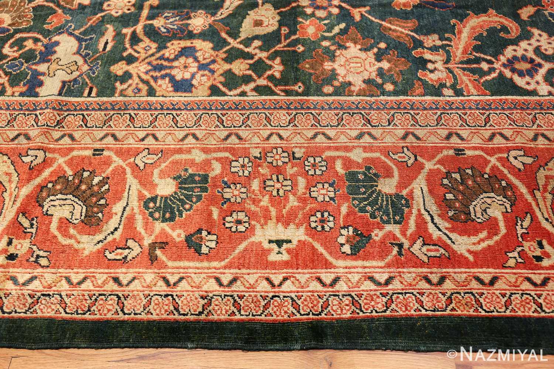 antique sultanabad persian rug 42986 border Nazmiyal