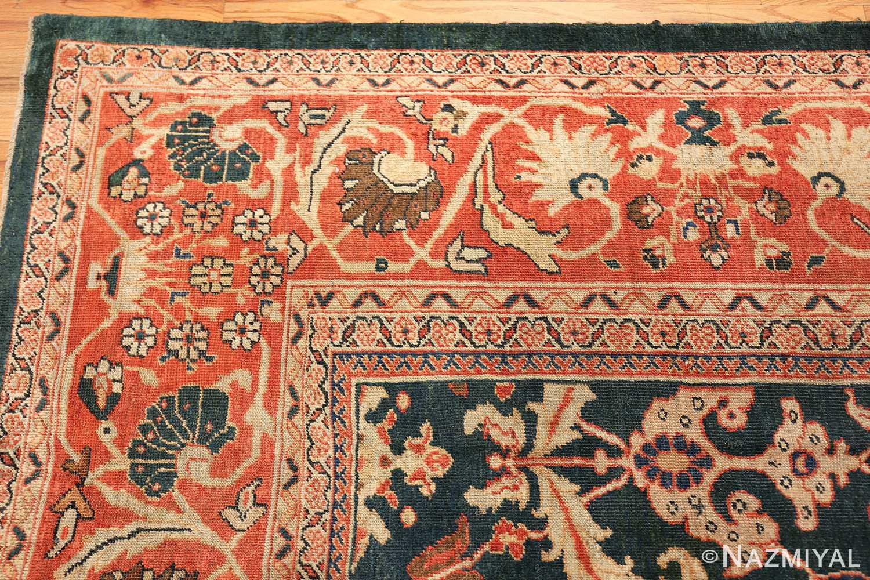 antique sultanabad persian rug 42986 corner Nazmiyal