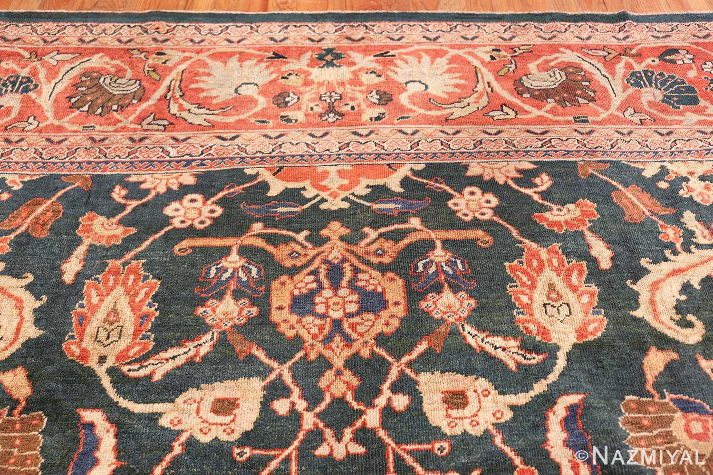 antique sultanabad persian rug 42986 design Nazmiyal