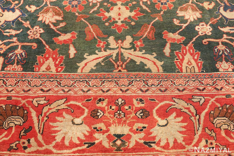 antique sultanabad persian rug 42986 top Nazmiyal